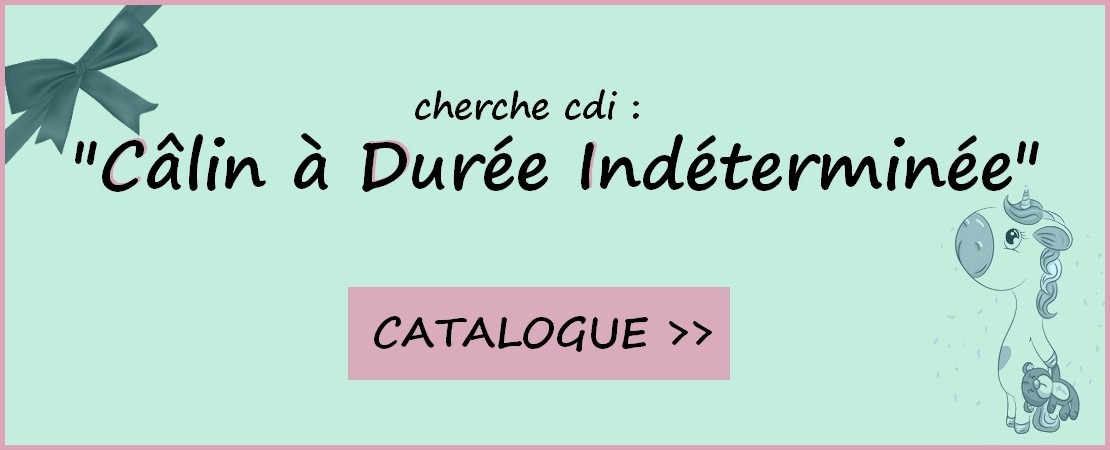 catalogue peluche licorne